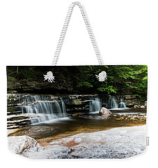 Weekender Tote Bag featuring the photograph Peters Kill In Spring #1 by Jeff Severson