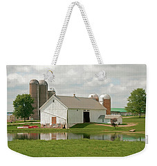 Peterson Mill Weekender Tote Bag by Trey Foerster
