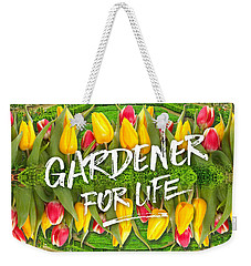 Petit Trianon Tulips Versailles Palace Gardens Paris France Weekender Tote Bag