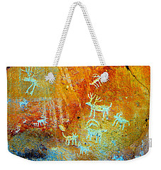 Petroglyph Panel Work 12 Weekender Tote Bag
