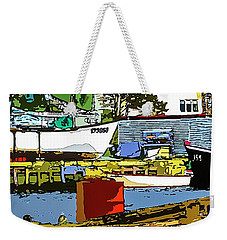 Petty Harbor Weekender Tote Bag