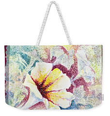 Petunia Array Weekender Tote Bag