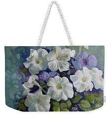 Petunias Symphony Weekender Tote Bag