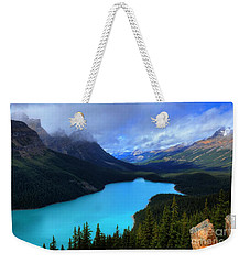 Peyto Lake Banff National Park Majestic Beauty Weekender Tote Bag