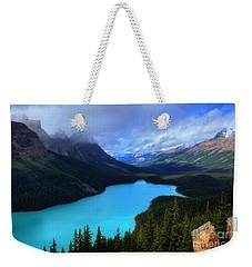Peyto Lake Banff National Park Majestic Beauty Weekender Tote Bag