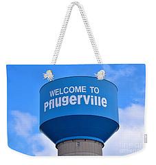 Pflugerville Texas - Water Tower Weekender Tote Bag