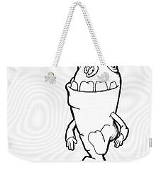 Phaart Weekender Tote Bag by Uncle J's Monsters