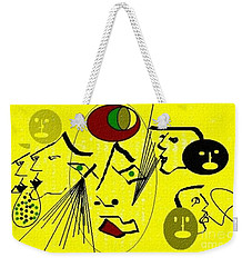 Phantom Of A Seeker Weekender Tote Bag