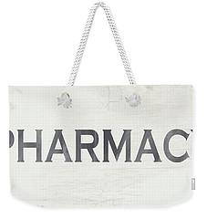 Pharmacy Sign- Art By Linda Woods Weekender Tote Bag