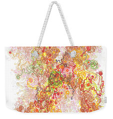 Phase Transition Weekender Tote Bag by Regina Valluzzi