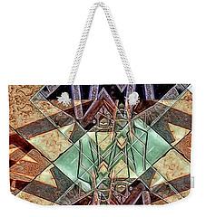 Weekender Tote Bag featuring the digital art Phasmids by Ron Bissett