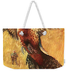 Pheasant Hunter Weekender Tote Bag