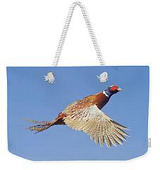 Pheasant Wings Weekender Tote Bag