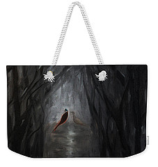 Pheasants In The Garden Weekender Tote Bag by Tone Aanderaa