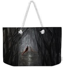 Pheasants In The Garden Weekender Tote Bag
