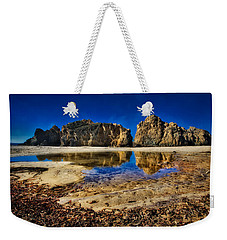 Weekender Tote Bag featuring the photograph Pheiffer Beach #15 - Big Sur, Ca by Jennifer Rondinelli Reilly - Fine Art Photography