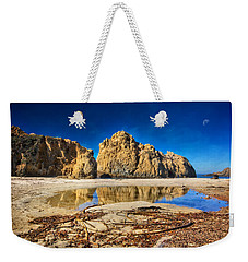 Weekender Tote Bag featuring the photograph Pheiffer Beach - Keyhole Rock #16 - Big Sur, Ca by Jennifer Rondinelli Reilly - Fine Art Photography