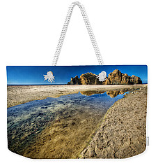 Weekender Tote Bag featuring the photograph Pheiffer Beach- Keyhole Rock #19 - Big Sur, Ca by Jennifer Rondinelli Reilly - Fine Art Photography