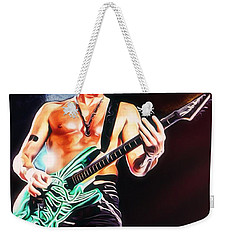 Phil Collen Portrait Weekender Tote Bag by Scott Wallace