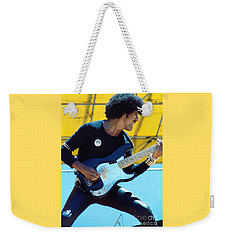 Phil Lynott Of Thin Lizzy-black Rose Tour Day On The Green 7-4-79 - New Unreleased   Weekender Tote Bag