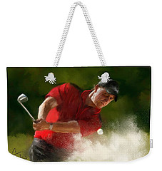 Phil Mickelson - Lefty In Action Weekender Tote Bag