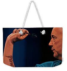 Phil Taylor The Power Weekender Tote Bag by Paul Meijering