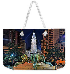 Philadelphia City Hall Weekender Tote Bag