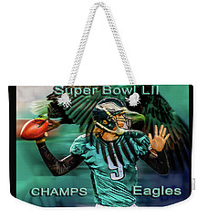 Philadelphia Eagles - Super Bowl Champs Weekender Tote Bag