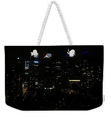 Philadelphia Night Lights Weekender Tote Bag