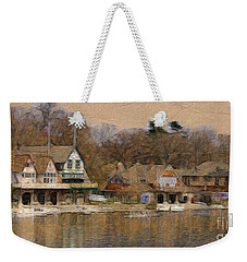Philadelphia Rowing Clubs Weekender Tote Bag