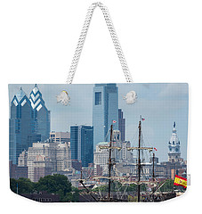 Philadelphia Skyline El Galeon Andalucia Weekender Tote Bag by Terry DeLuco