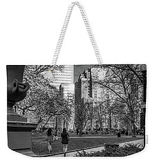 Weekender Tote Bag featuring the photograph Philadelphia Street Photography - 0902 by David Sutton