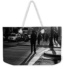Philadelphia Street Photography - 0943 Weekender Tote Bag by David Sutton