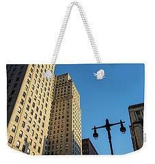 Weekender Tote Bag featuring the photograph Philadelphia Urban Landscape - 0948 by David Sutton