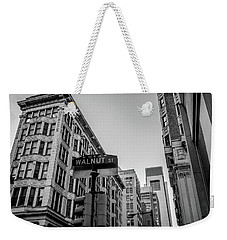 Weekender Tote Bag featuring the photograph Philadelphia Urban Landscape - 0980 by David Sutton