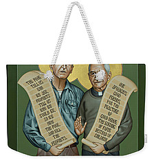Philip And Daniel Berrigan Weekender Tote Bag