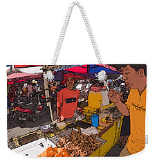 Philippines 1299 Street Food Weekender Tote Bag