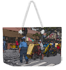 Philippines 906 Crosswalk Weekender Tote Bag