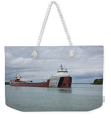 Phillip R. Clarke Freighter Weekender Tote Bag