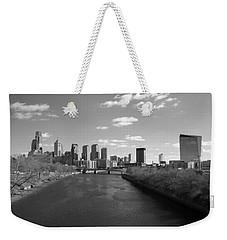 Philly B/w Weekender Tote Bag by Jennifer Ancker