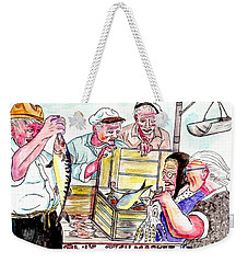 Phil's Fish Market Weekender Tote Bag