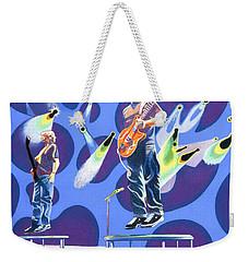 Phish Tramps Weekender Tote Bag by Joshua Morton