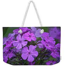 Phlox Weekender Tote Bag