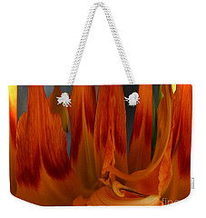 Phoenix Flame Weekender Tote Bag