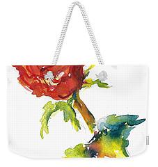 The Phoenix Rose Weekender Tote Bag