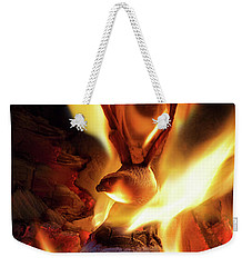 Phoenix Weekender Tote Bag by Jerry LoFaro