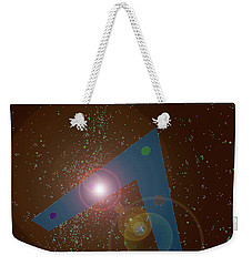 Weekender Tote Bag featuring the painting Phoenix Lights Ufo by James Williamson