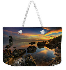 Weekender Tote Bag featuring the photograph Phoenix Nights 4.0 by Yhun Suarez