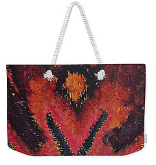 Phoenix Rising Original Painting Weekender Tote Bag