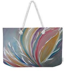 Weekender Tote Bag featuring the painting Phoenix Rising by Sharyn Winters